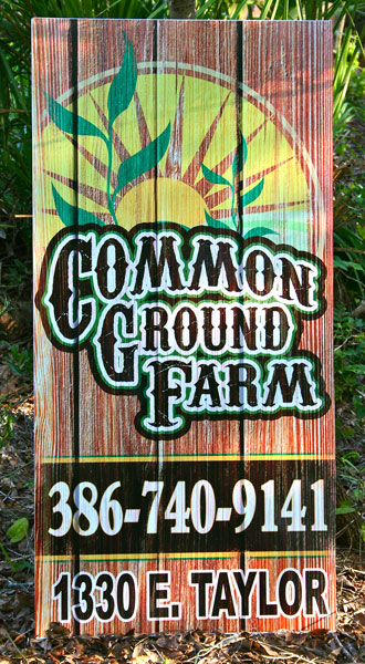 COmmon ground Farm deland florid asign
