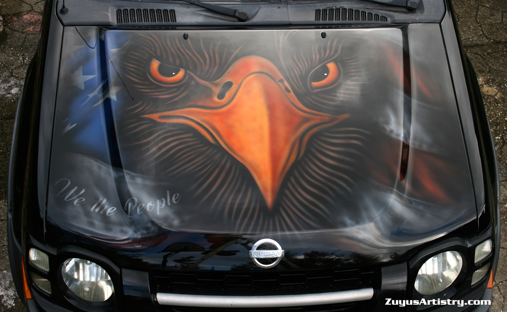airbrushed murals on cars trucks