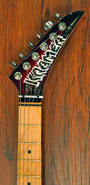 Kramer electric headstock graphic