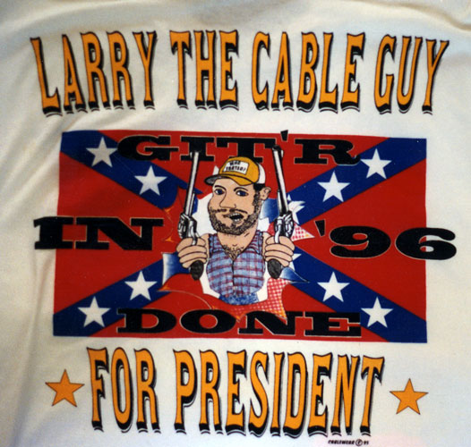 larry the cable guy shirt