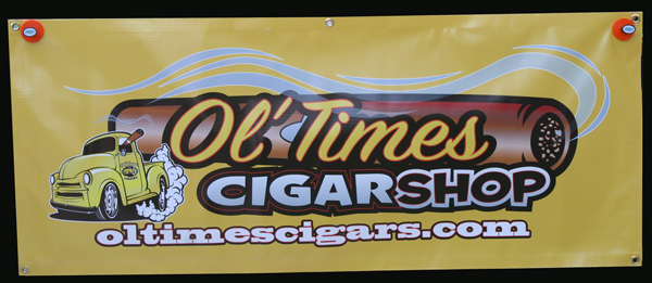 ol times cigars banner