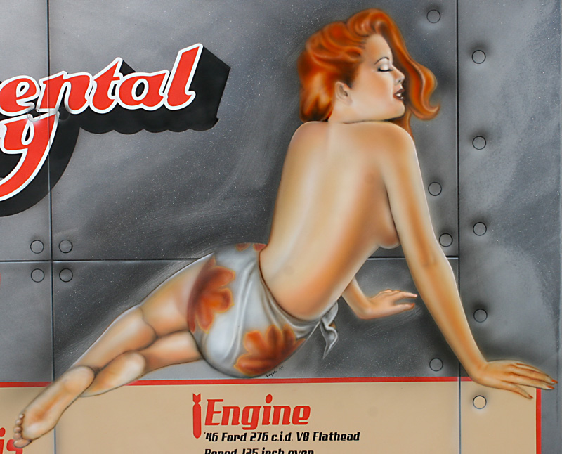 Pin up airbrush