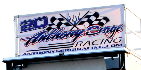 Anthony Sergi Racing banner