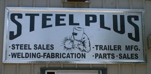 steel plus sign