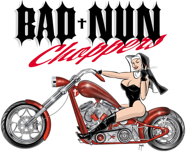 bad nun logo