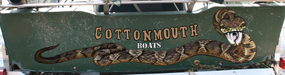 cottonmouth airboat