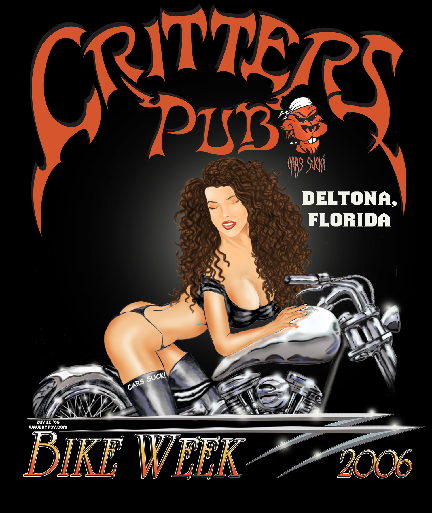 critters pub bike week
