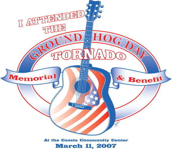 BENEFIT SHIRT FOR GROUND HOG DAY TORNADO