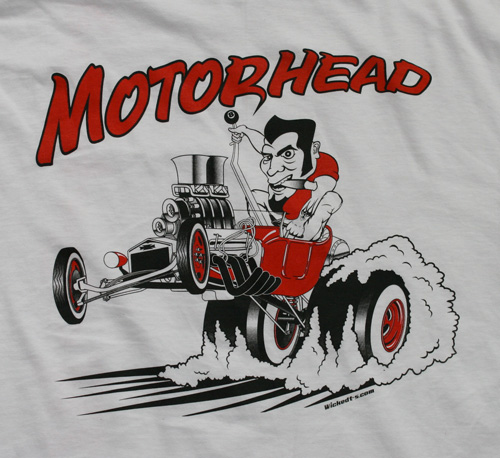 Motorhead t-bucket street rod design